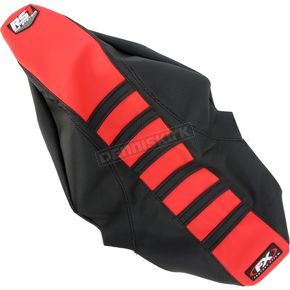 Factory Effex Black/Red RS1 Seat Cover - 18-29326