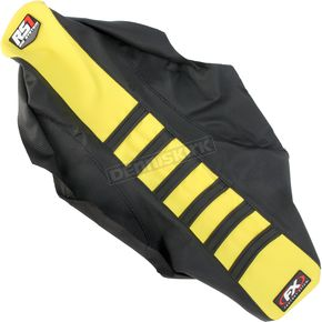Factory Effex Black/Yellow RS1 Seat Cover - 18-29424