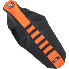 Factory Effex Black/Orange RS1 Seat Cover - 18-29526