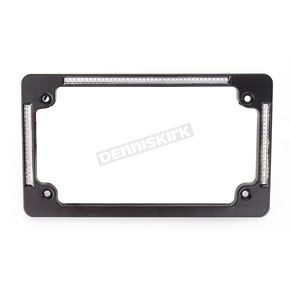 Custom Dynamics Black Flat License Plate Frame - TF04-B