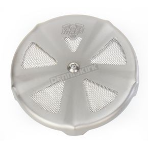 Vance & Hines Matte Chrome VO2 Air Cleaner Cover - 71025