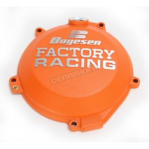 Boyesen Orange Factory Clutch Cover - CC-44CO