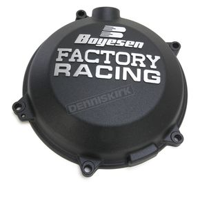 Boyesen Black Factory Clutch Cover - CC-45AB