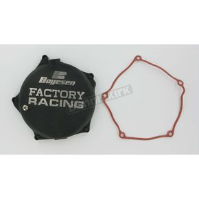 Boyesen Factory Racing Black Clutch Cover - CC-17B