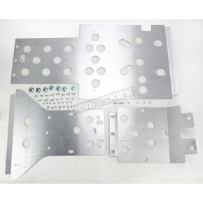 Moose Full Chassis Aluminum Skid Plate - 0506-0400