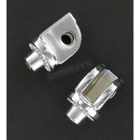 Kuryakyn Chromed Splined Adapter Mounts - 8808