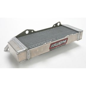 Fluidyne Powersports Power-Flo Off-Road Radiator - FPS11-CRF450X-L