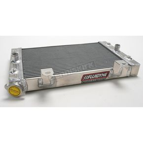 Fluidyne Powersports Power-Flo Off-Road Radiator - FPS11-8RHINO