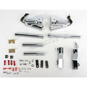 Kuryakyn Swingarm Cover Kit with Lighted Phantom Covers - 8698