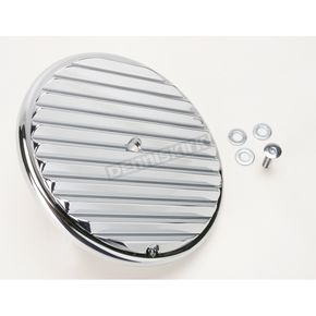 Arlen Ness Chrome Retro Outer Cover Air Cleaner Cover - 18-786