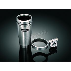 Kuryakyn Universal Drink Holder w/Stainless Steel Mug for 1 1/4 in. Bars - 1477