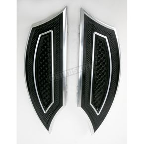 Thunder Cycle Designs Black Floorboards - TC-554