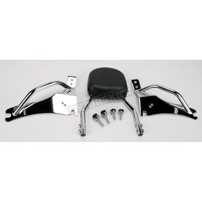 Jardine Complete Backrest/Mount Kit with Small Steel Backrest - 34-3107-01
