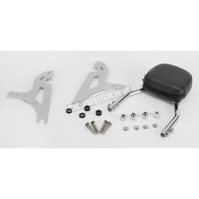 Jardine Short Quick-Detach Passenger Backrest Kit w/6 in. x 6 in. Pad - 34-5108-01