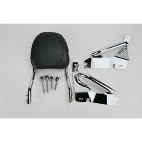 Jardine Complete Backrest/Mount Kit with Touring Backrest - 34-3207-01