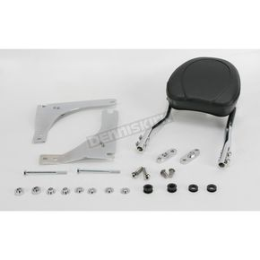 Jardine Touring Quick-Detach Passenger Backrest Kit w/8 in. x 8 in. Pad - 34-5204-01