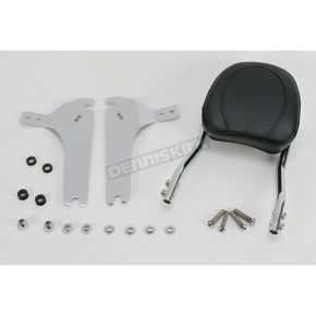 Jardine Touring Quick-Detach Passenger Backrest Kit w/8 in. x 8 in. Pad - 34-5209-01