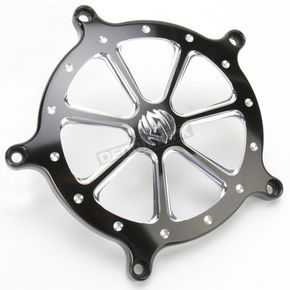Roland Sands Design Platinum Cut Speed 7 Venturi Air Cleaner Faceplate - 02062032SPD7BMP