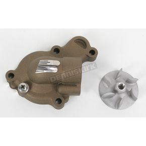 Boyesen Magnesium Supercooler Water Pump Cover and Impeller Kit - WPK-38AM