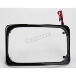 Paul Yaffe Black Stealth 2 License Plate Frame - SLP2-B
