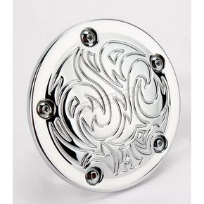 Arlen Ness Chrome Engraved Points Cover - 03-599