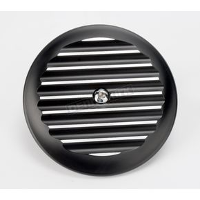 Black Finned Billet Air Cleaner Insert - 02-21TC