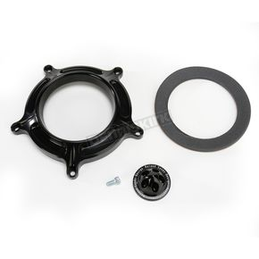 Roland Sands Design Black Turbine Venturi Faceplate Kit - 0206-2053-B