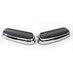 Chrome Streamline Driver Floorboards - 1621-0347
