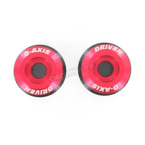 Driven Racing Red 8mm D Axis Spools - DXS-8.1-RD