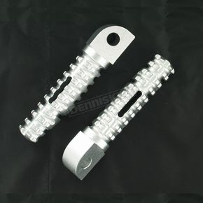 Silver SBK Pegs for OEM Mounts - 07-01203-21
