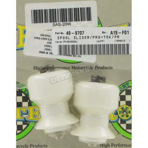 Pro Tek Swingarm Spool Sliders - SAS-20WHT