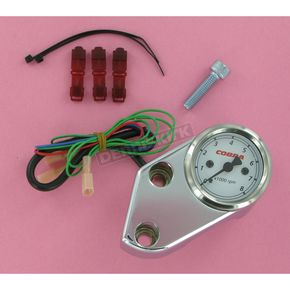 Cobra Billet Tachometer for Cruisers - 01-1636