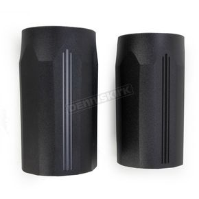 Performance Machine Black Ops Tech Fork Slider Cover - 0208-2102-SMB