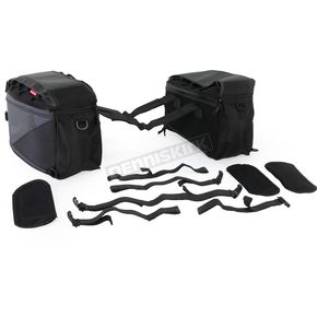 Fastrax Black Backroads Saddlebags - 50145-00