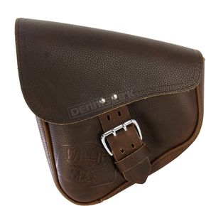 Willie & Max Brown Limited Edition Leather Triangulated Swingarm Bag - 59909-00
