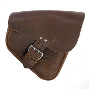Willie & Max Brown Limited Edition Leather Dual Shock Swingarm Bag - 59907-00