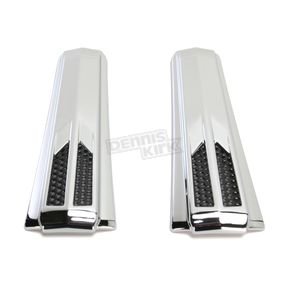 Ciro Chrome Forkini Upper Fork Accents - 43010