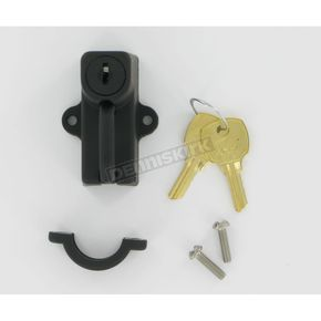 Motion Pro 7/8 in. Mount Black Helmet Lock - 11-0006