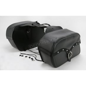 Saddlemen Jumbo Midnight Express Desperado Slant Throw-Over Saddlebags - X02-03-052