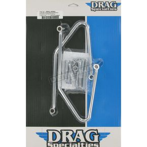 Drag Specialties Chrome Saddlebag Support Brackets - 3501-0304