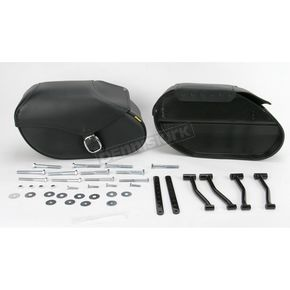 Willie & Max Small Hard Mount Standard Revolution Saddlebags - SB1800