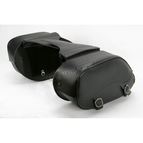 Willie & Max Small Throw-Over Leather Revolution Saddlebags - SB1908
