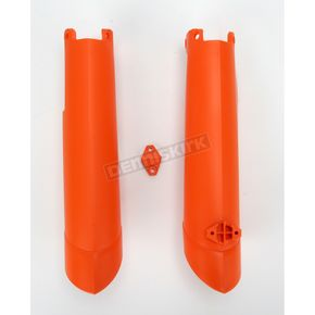 Acerbis Orange Lower Fork Cover Set for Inverted Forks - 2113750237