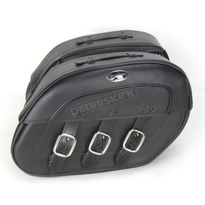 Saddlemen Rigid-Mount Specific-Fit Quick-Disconnect Drifter Saddlebags - 3501-0513