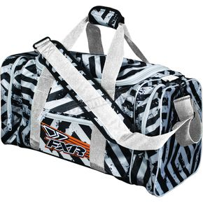 FXR Racing White/Black Hazard Duffle Bag - 2708