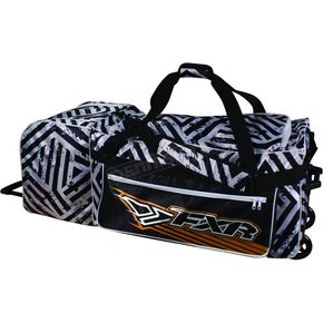 FXR Racing White/Black Transporter Hazard Bag - 2709