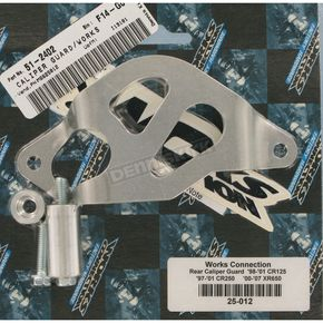 Aluminum Rear Caliper Guard - 25-012