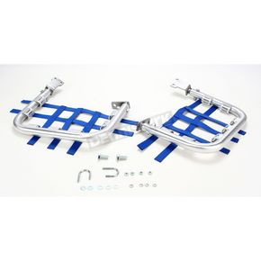 DG Alloy Nerf Bars w/Blue Webbing - 60-4480