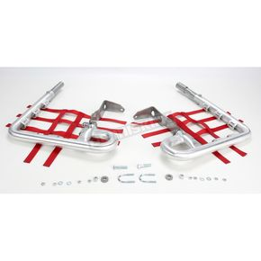 DG Fat Series 1-1/2 in. Alloy Nerf Bars w/Red Webbing  - 602-2125