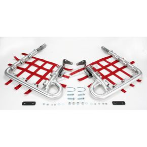 DG Fat Series 1-1/2 in. Alloy Nerf Bars w/Red Webbing  - 602-2135